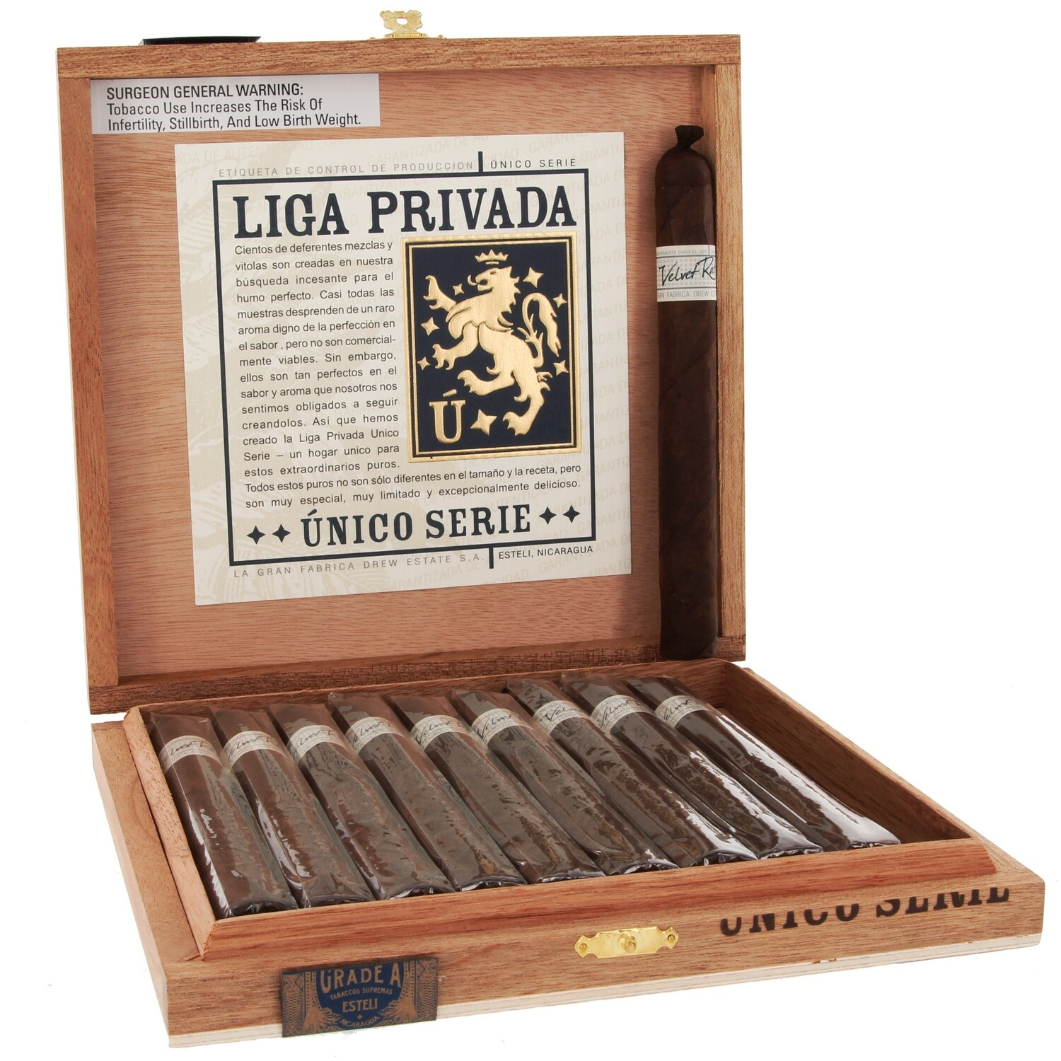 Liga Privada Unico Velvet Rat