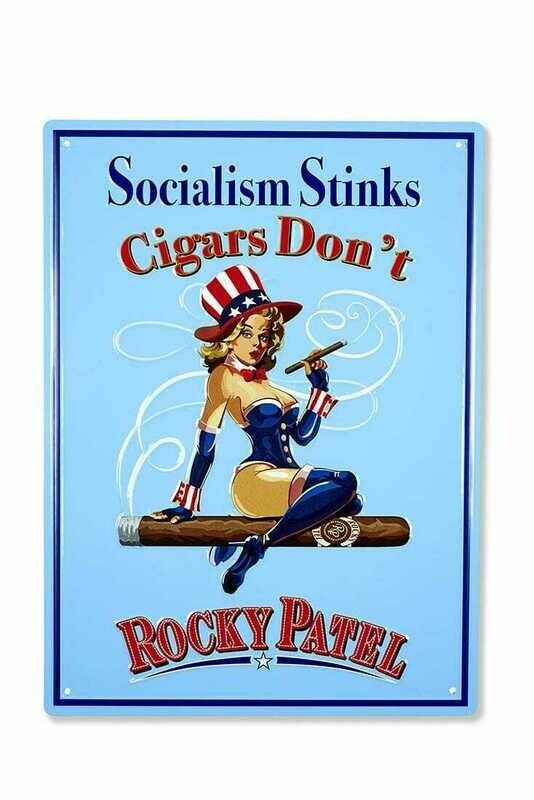 ROCKY SOCIALISM STINKS SIGN