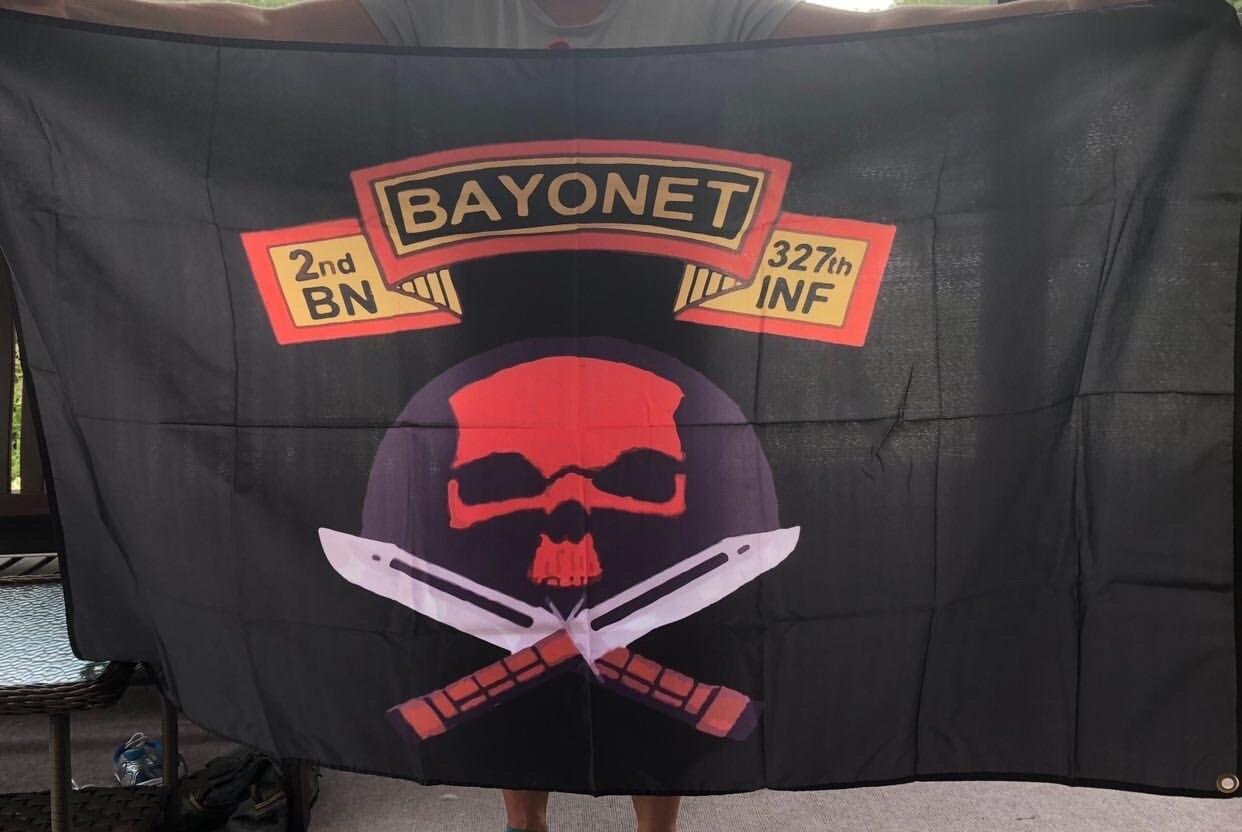 "No Slack "" Bayonet Company "" Flag"