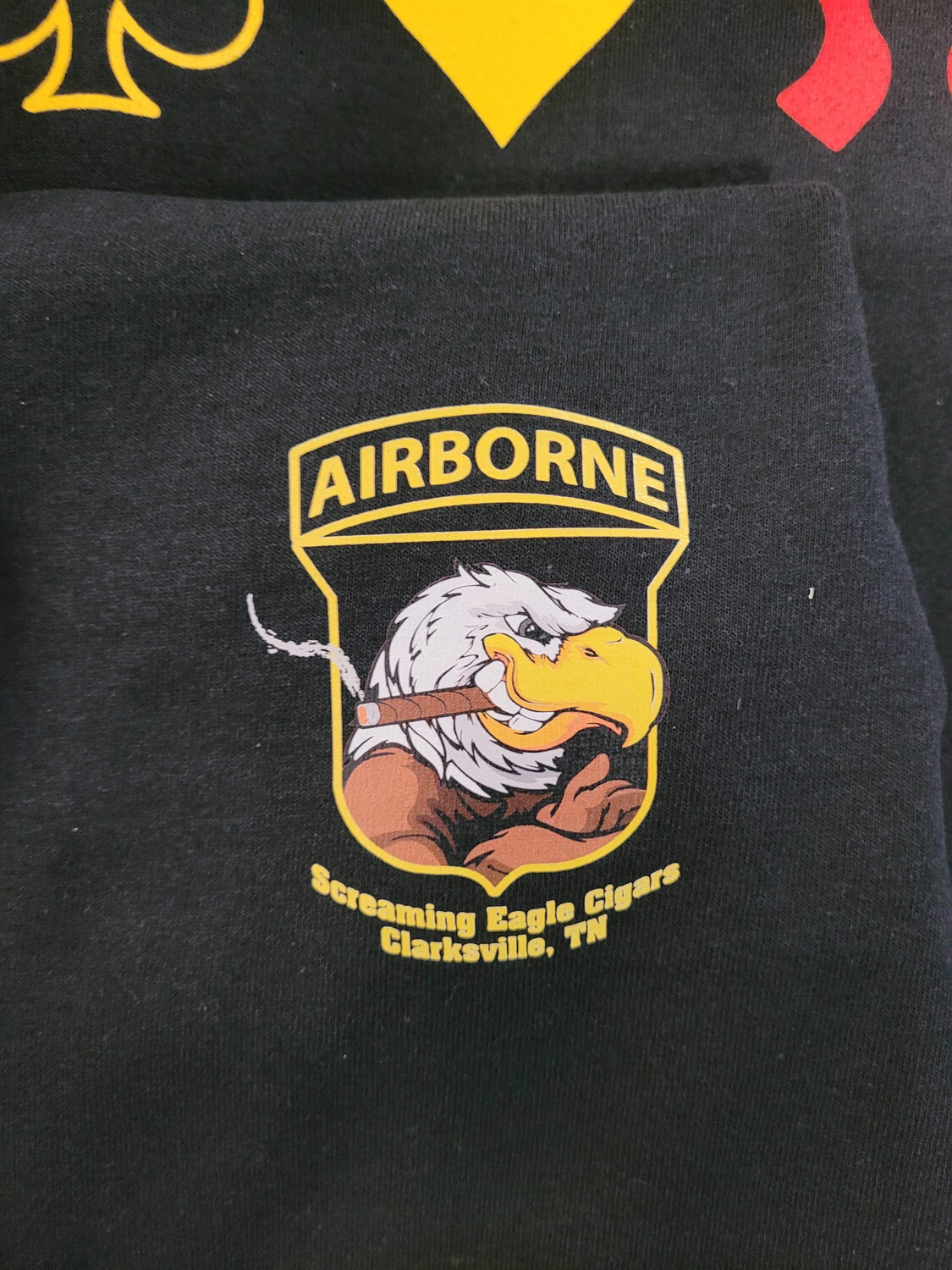 Color Screaming Eagle T-Shirt - Leave Size In Comments