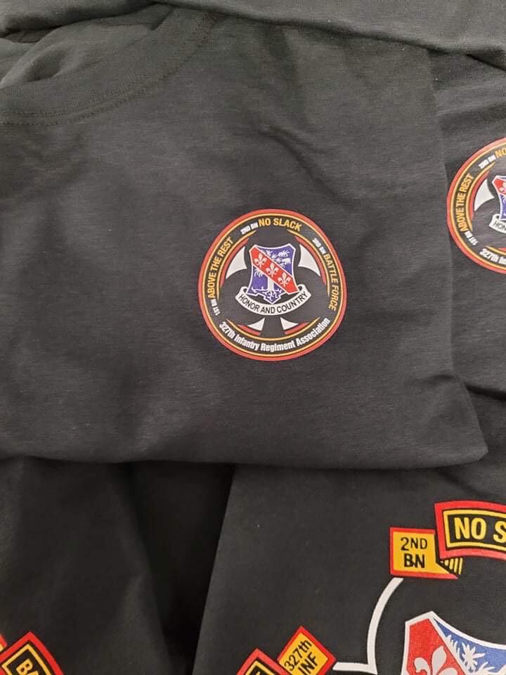 327 Infantry Regiment Association T-SHIRTS