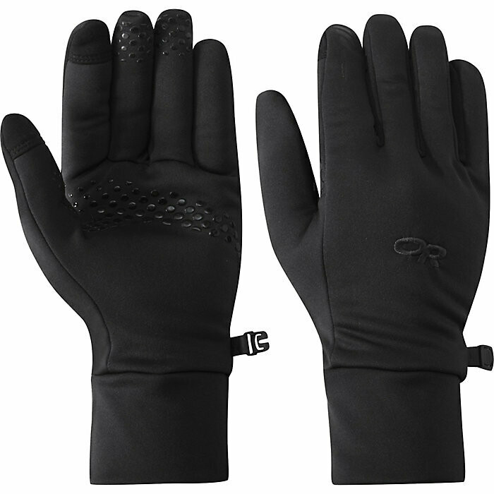 OR Men's Vigor Midweight Sensor Gloves-Black