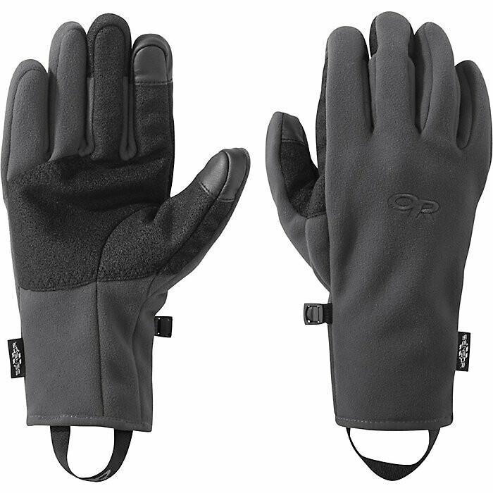 OR Men's Gripper Sensor Glove- Charcoal