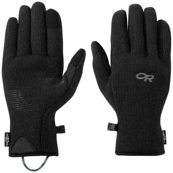 OR Men's Flurry Sensor Gloves- Black