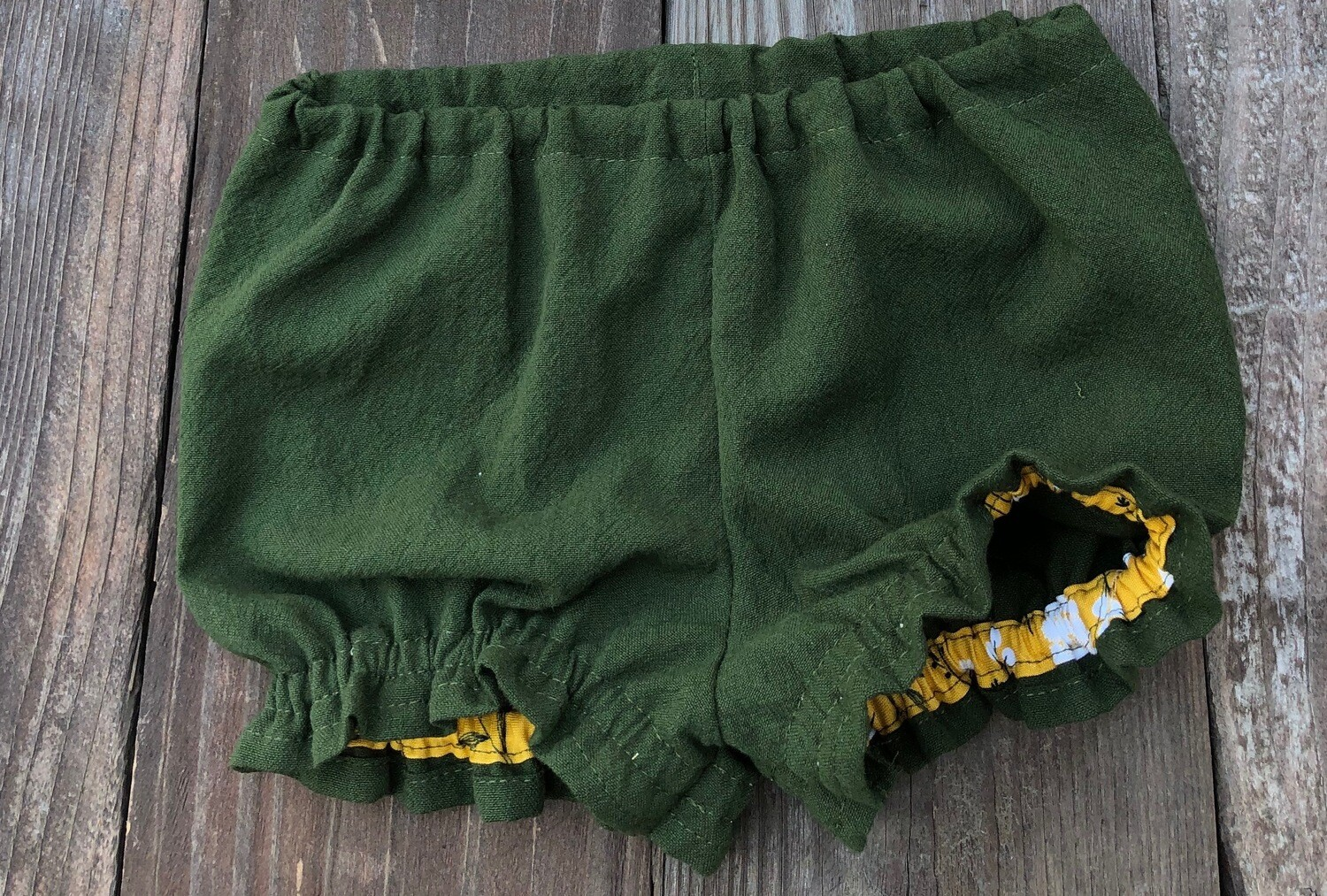 Baby Bloomers - Forest Green