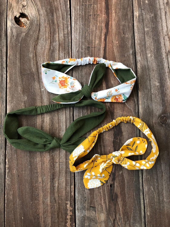 Dolly Knot Headband - Florals