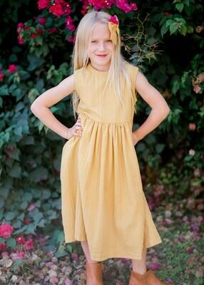 Abby Dress in Goldenrod
