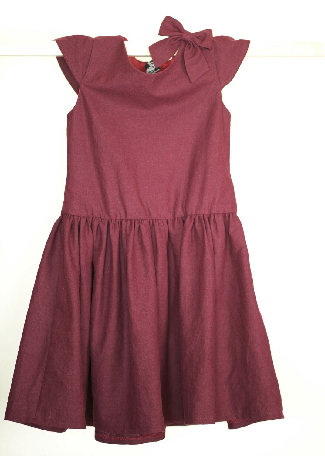 Beth Dress in Mulberry