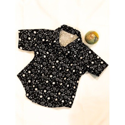 Outer Space Button Up Shirt