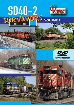 SD40-2 Survivors Volume 1