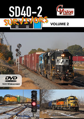 SD40-2 Survivors Volume 2