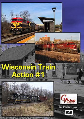 Wisconsin Train Action #1
