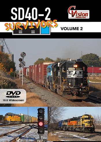 SD40-2 Survivors Volume 2