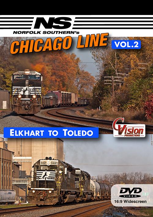 Norfolk Southern's Chicago Line, Volume 2
