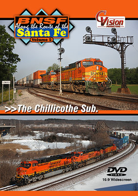 BNSF, Along the Route of the Santa Fe, Vol. 5