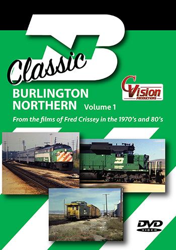 Classic Burlington Northern, Volume 1