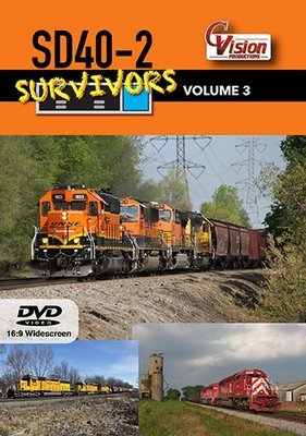 SD40-2 Survivors Volume 3