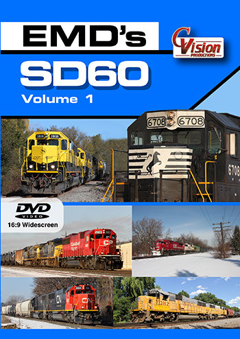 EMD's SD60,  Volume 1