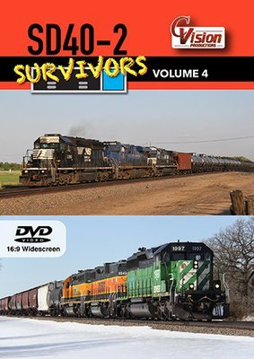 SD40-2 Survivors, Volume 4