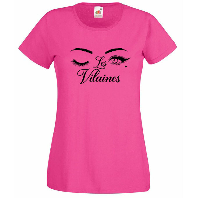 Tee-shirt Les Vilaines