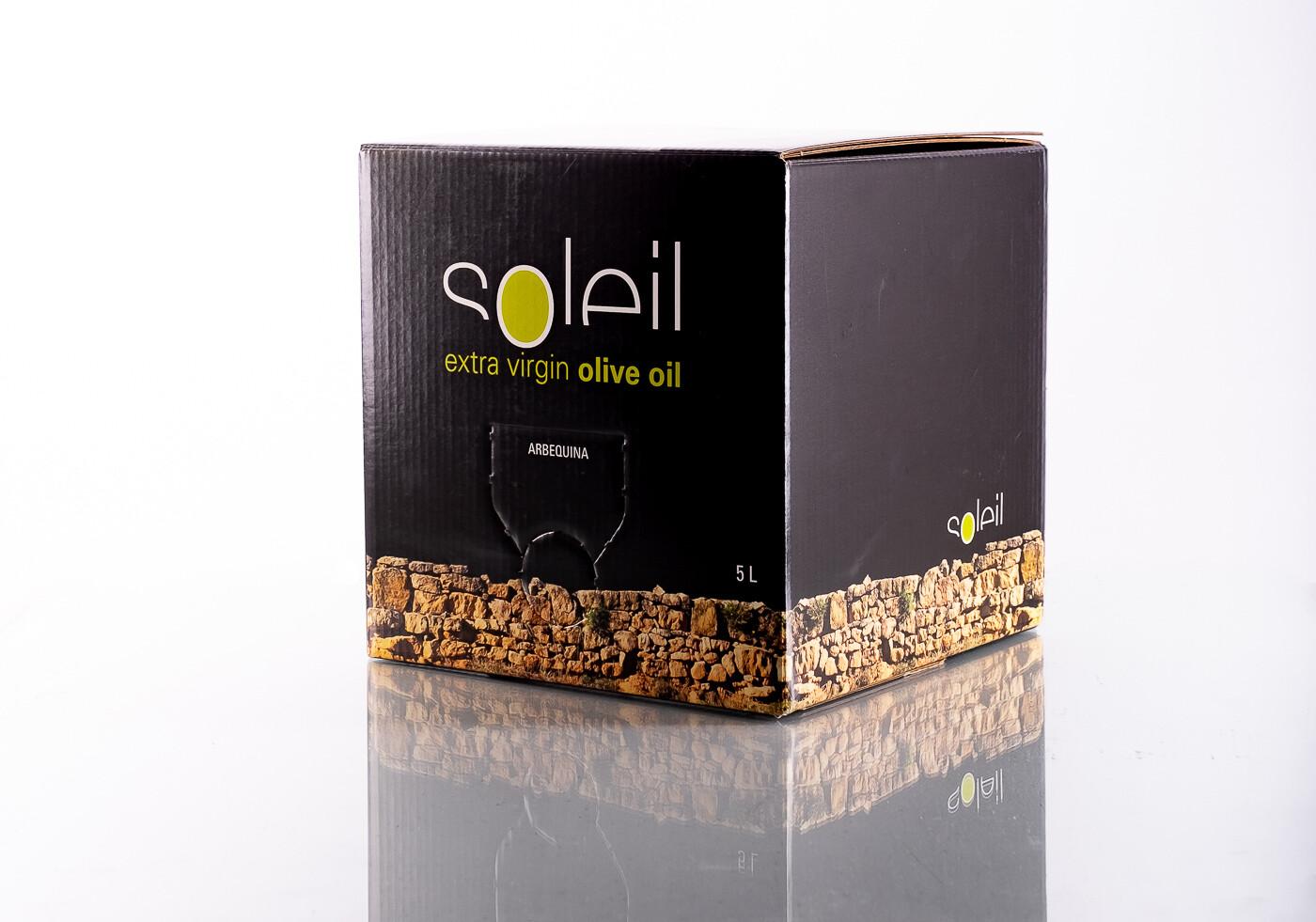 Aceite de oliva virgen extra soleil Bag in box 15 L