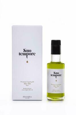 Suo Tempore Aceite de Oliva Virgen Extra de máxima Calidad en Estuche Premium 250 ml