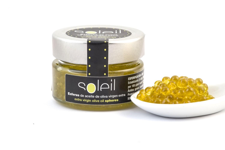 Soleil Esferas de aceite de oliva virgen extra 50 gr.