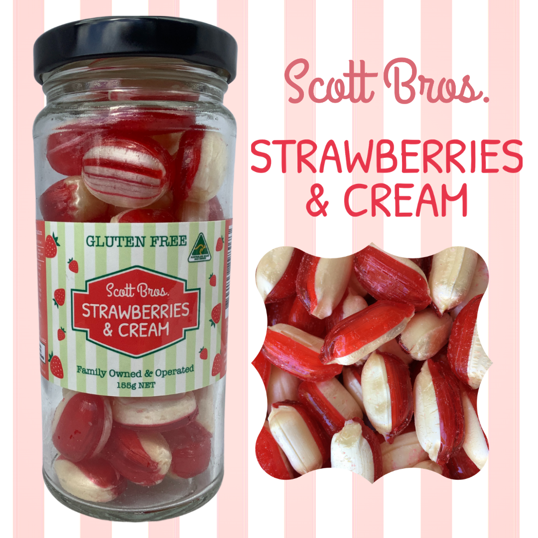 Strawberries & Cream, 155 g