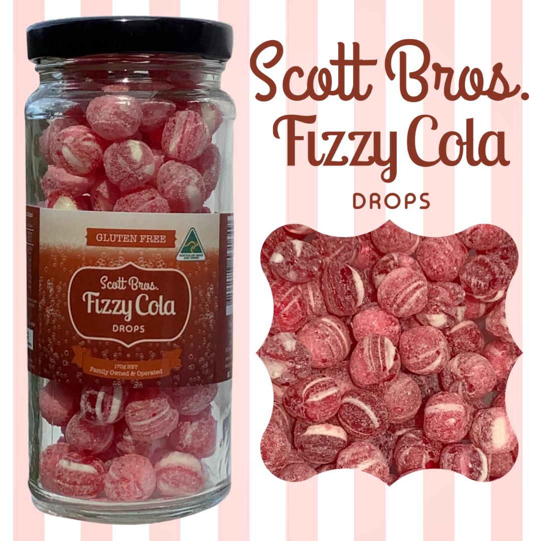 Fizzy Cola Drops, 170g
