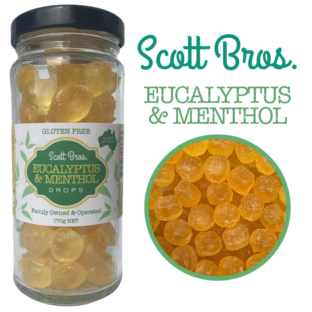 Eucalyptus & Menthol Drops, 170 g