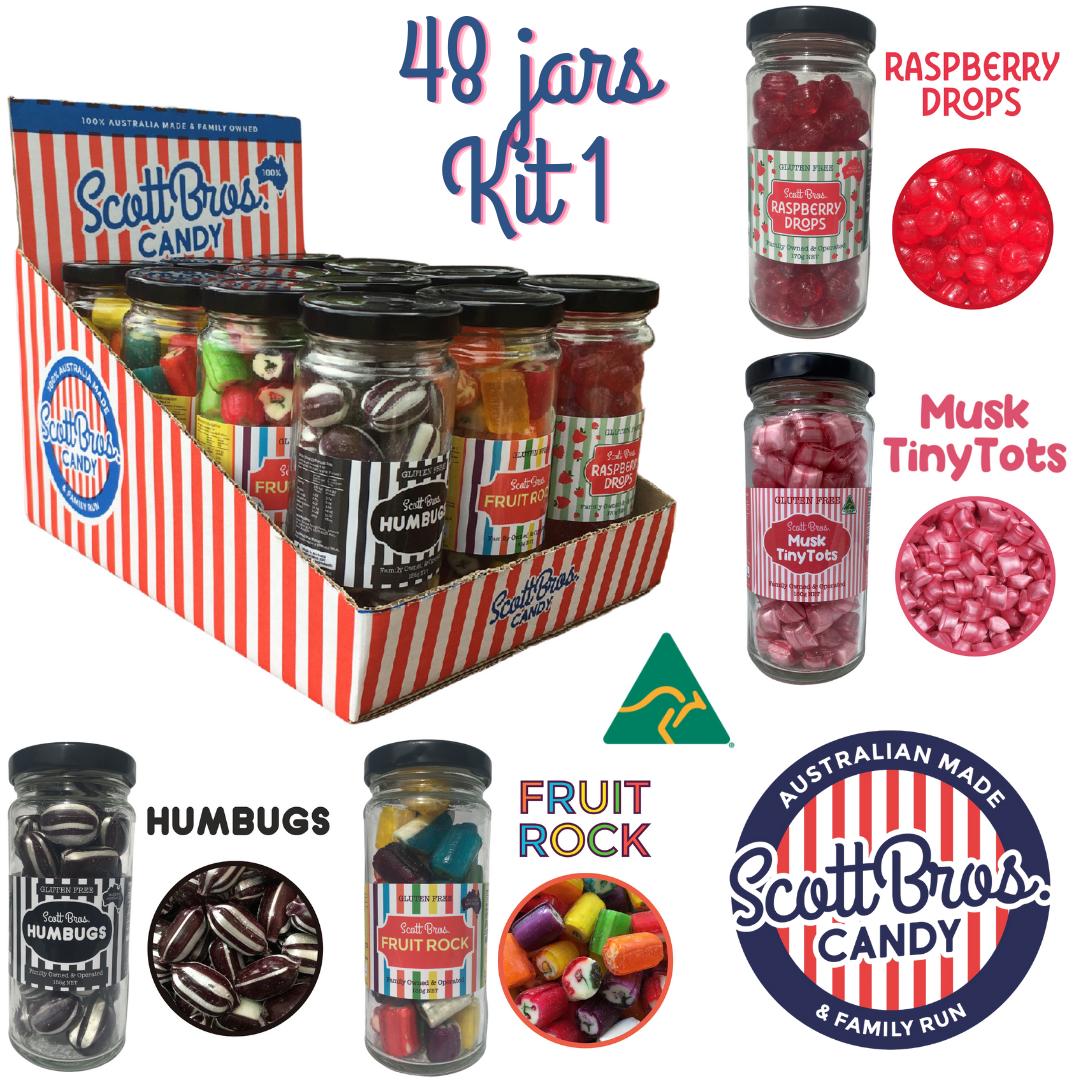 48-Jar KIT #1