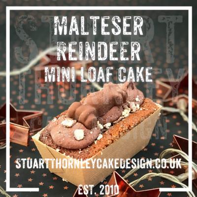Malteser Reindeer Mini Loaf Cake