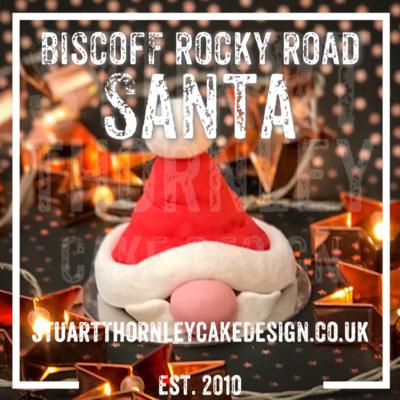 Biscoff Rocky Road Santa