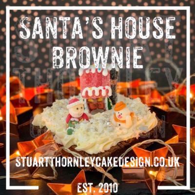 Santa's House Brownie