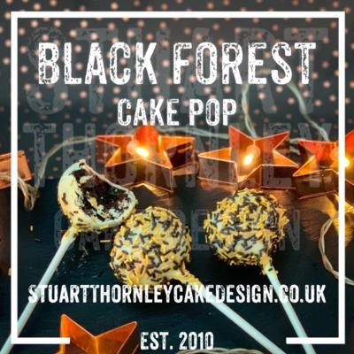 Black Forest Cake Pop
