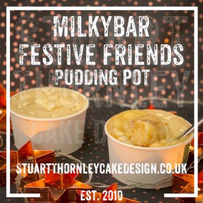 Milkybar Festive Friends Pudding Pot