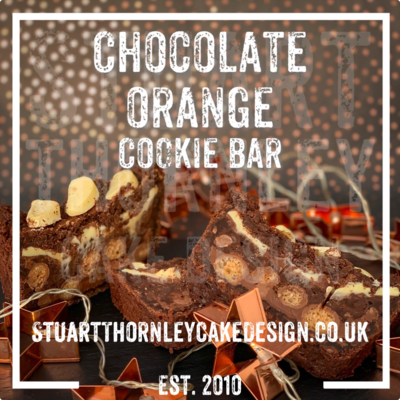 Chocolate Orange Cookie Bar