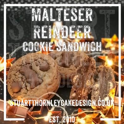 Malteser Reindeer Cookie Sandwich