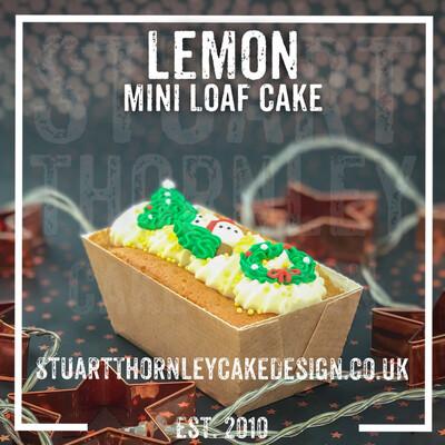 Lemon Mini Loaf Cake