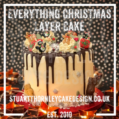 Everything Christmas Layer Cake