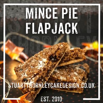 Mince Pie Flapjack
