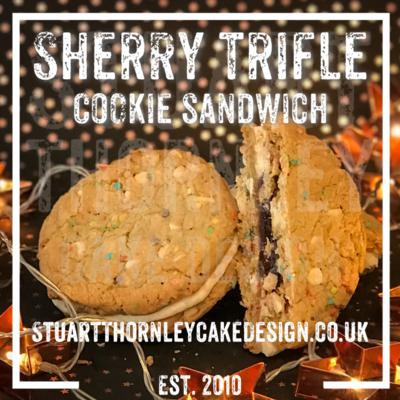 Sherry Trifle Cookie Sandwich