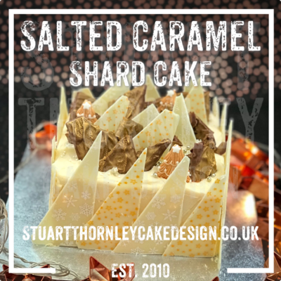 Salted Caramel Shard Cake