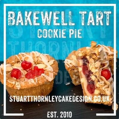 Bakewell Tart Cookie Pie