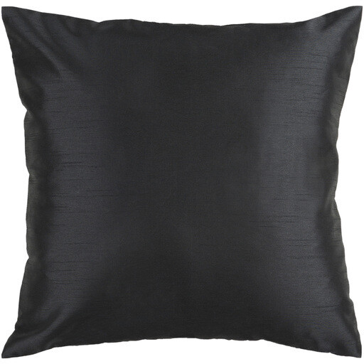 Black Satin Pillow