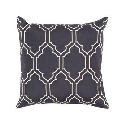 Black & White Print Pillow