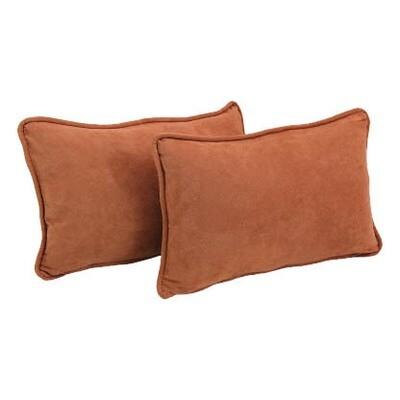 Burnt Orange Lumbar Pillow