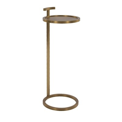 Capone Table - Brass