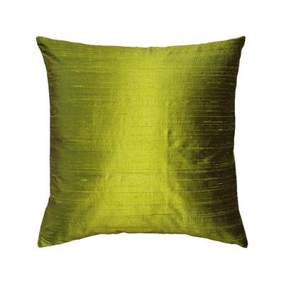 Chartreuse Silk Pillow