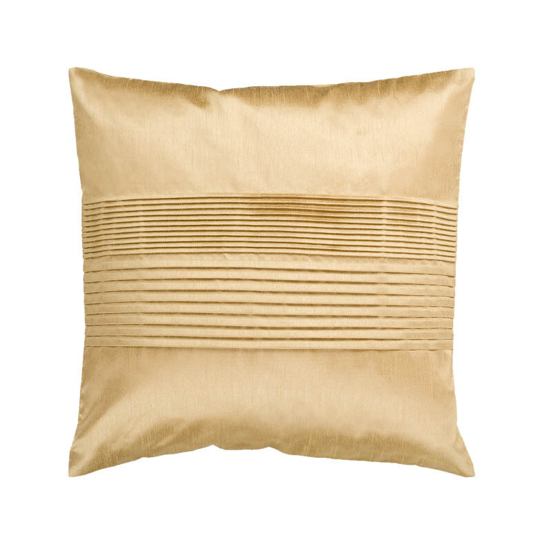 Gold Pleated Pillow